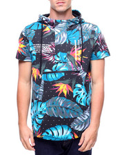 Hoodies - Bamn Encore S/S Anorak Floral Shirt-2178805