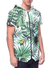 Hoodies - Bamn Encore S/S Anorak Floral Shirt-2178764