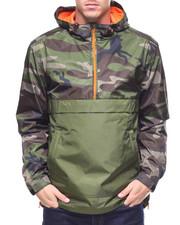 Outerwear - CAMO COLOR BLOCK ANORAK-2178980