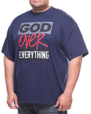 Buyers Picks - S/S God Over Everything Tee (B&T)-2177546