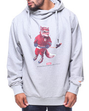 Hoodies - L/S Heather Grey Cuttin Edge Slick Hoodie (B&T)