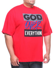 Men - S/S God Over Everything Tee (B&T)-2177555