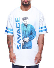 Men - S/S Savage Chapo Foil & Rhinestone Tee (B&T)-2179517