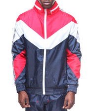 Outerwear - COLORBLOCK TRACK JACKET W TAPE-2180685