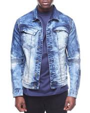 Denim Jackets - COAL BLUE DENIM JACKET