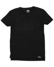 Boys - Embossed Logo Print Tee (8-20)