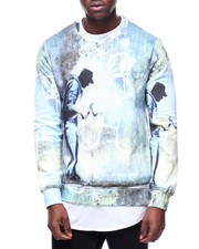 Eleven Paris - BANKSY GREY GHOST SWEATSHIRT-2180823
