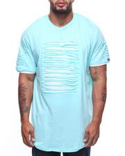 Shirts - S/S Rip & Repair Lined Scoop Bottom Tee (B&T)
