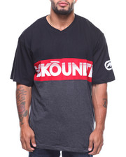 Ecko - S/S Rewed Up V-Neck Tee (B&T)-2181228