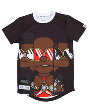 Tops - Yung & Rich Big Character Sublimation Tee (4-7)