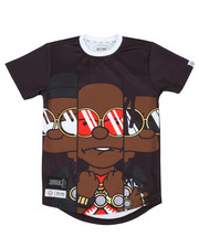 Boys - Yung & Rich Big Character Sublimation Tee (8-20)