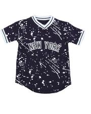 Tops - City Baseball Jersey Tee (4-7)
