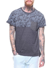 Shirts - FLORAL PRINT CUT & SEW TEE