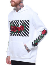 Buyers Picks - L/S HOODIE W EMBROIDERED ROSES