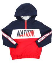 Parish - Nylon Windbreaker Jacket (4-7)-2181022