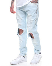 Men - BLOWN OUT KNEE BLEACHED JEAN BY WAIMEA