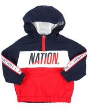 Outerwear - Nylon Windbreaker Jacket (2T-4T)