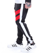 Men - Color Block Stripe Pant