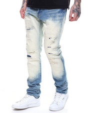 Men - BLEACH OMBRE RIPPED JEAN