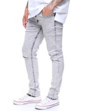 Jeans - CROPPED JEAN W SLASH KNEE BY WAIMEA