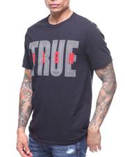 True Religion - MAZE LETTER LOGO TEE
