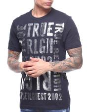True Religion - BRUSHED METALLIC GRAPHIC TEE