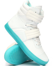 Radii Footwear - Cylinder White Leather Ice Sneakers