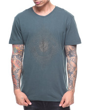 True Religion - METALLIC EMBROIDERED STRING CREW TEE-2182575