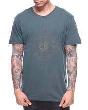 Shirts - METALLIC EMBROIDERED STRING CREW TEE-2182575
