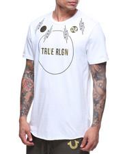 True Religion - METALLIC MIXED MEDIA GRAPHIC TEE-2182803