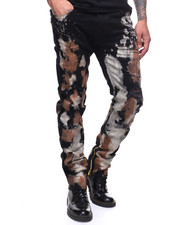 Jeans & Pants - BLEACH AND RUST SPLATTER ROCCO SLIM JEAN-2182428