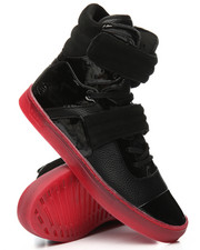 Radii Footwear - Cylinder Black Red Alert Sneakers