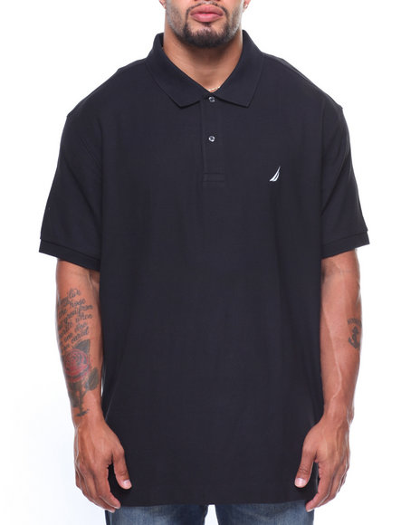 Nautica - S/S Anchor Solid Deck Polo (B&T)
