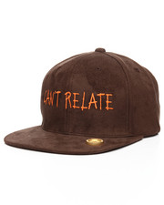 SMOOTH INDIVIDUALITY - Cant Relate Suede Dad Hat-2178491