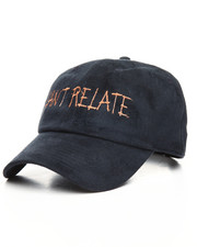 SMOOTH INDIVIDUALITY - Cant Relate Suede Dad Hat
