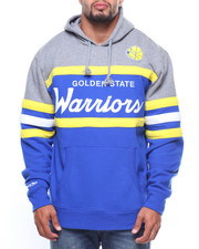 Mitchell & Ness - L/S Golden State Warriors Hoodie (B&T)