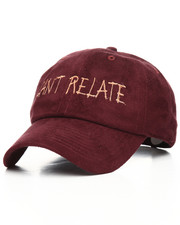 SMOOTH INDIVIDUALITY - Cant Relate Suede Dad Hat-2178490