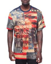 Akademiks - S/S American Native Flag Tee-2183034
