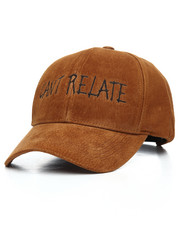 SMOOTH INDIVIDUALITY - Cant Relate Suede Dad Hat-2178489