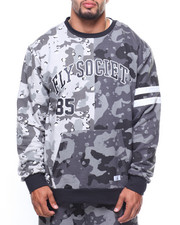 Flysociety - L/S Split Camo Crew Neck Sweatshirt (B&T)-2183529