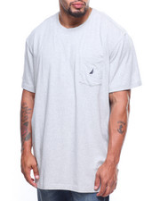 Nautica - S/S Anchor Left Pocket Tee (B&T)