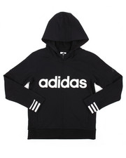 Light Jackets - Adidas Classic Athletics French Terry Jacket (8-20)