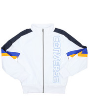 Light Jackets - Retro Sport Woven Warm-up Jacket (8-20)