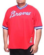 Mitchell & Ness - Atlanta Braves Dale Murphy Mitchell & Ness 1980 Authentic Mesh BP Jersey (B&T)
