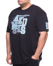 Akademiks - S/S Society Parche H.D. & Flat Print Tee (B&T)