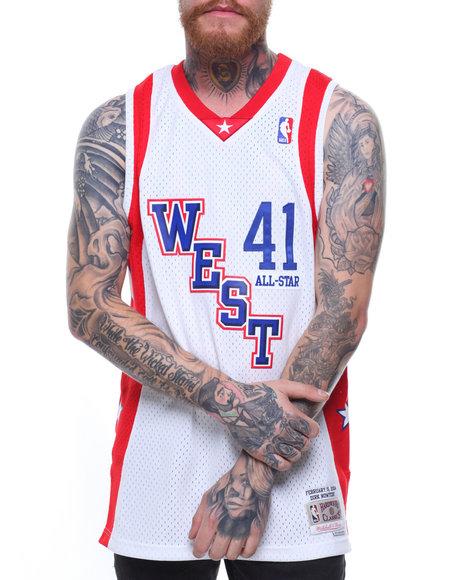 size 40 9b007 3e9fb Buy Dirk Nowitzki #41 All Star West Swingman Jersey Men's ...