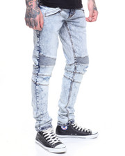 Jeans & Pants - ACID WASH MOTO JEAN-2183904