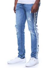 Buyers Picks - Distressed Painted Side Stripe Jean BY WAIMEA