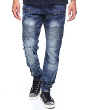 Akademiks - Moto Jean/Zippers