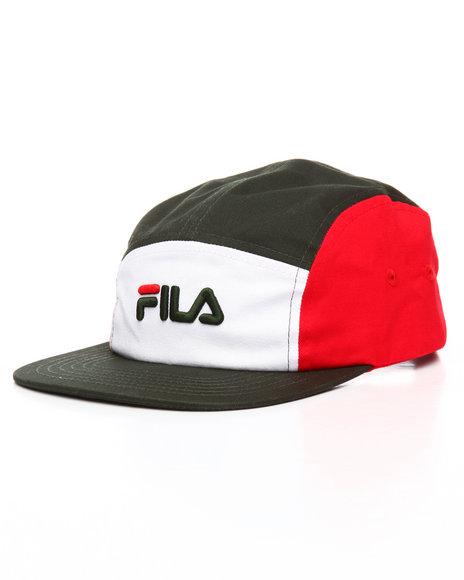 fila hat red